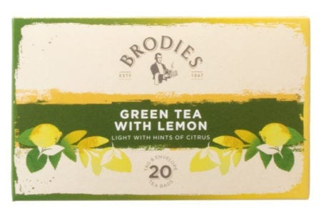Brodies Green Tea With Lemon