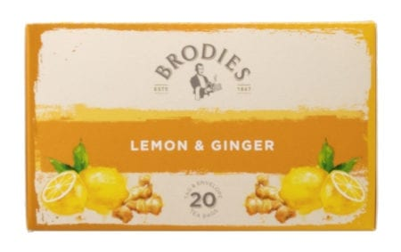 Brodies Lemon and Ginger