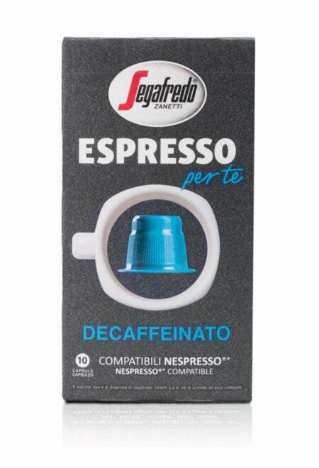 Segafredo Per Te capsules Decaffeinato voor Nespresso®