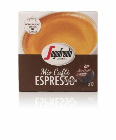 Segafredo Mio Caffè Espresso capsules voor Dolce Gusto®