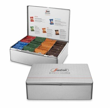 Segafredo Le Origini presentatiebox 5 smaken