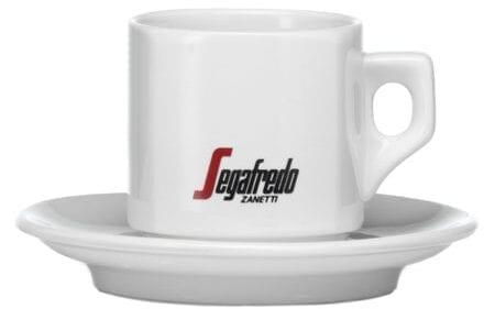 Segafredo Koffie/Cappuccino kop en schotel