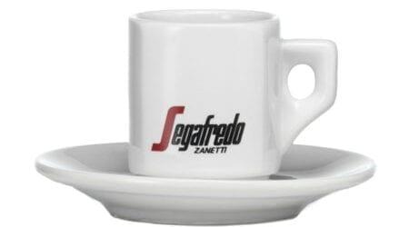 Segafredo Espresso kop en schotel
