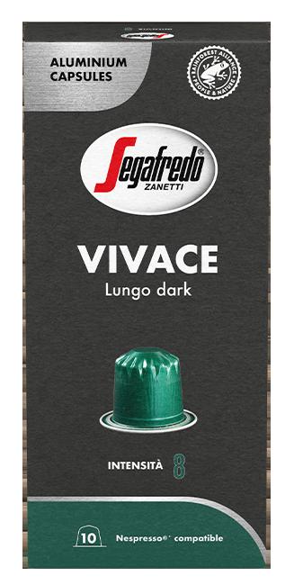 Segafredo – aluminium capsules - Vivace – Lungo dark