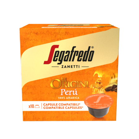 Segafredo Le Origini Perú capsules voor Dolce Gusto®